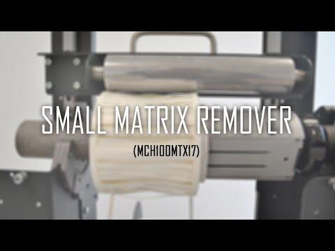 DPR Printed Label Matrix Remover video thumbnail