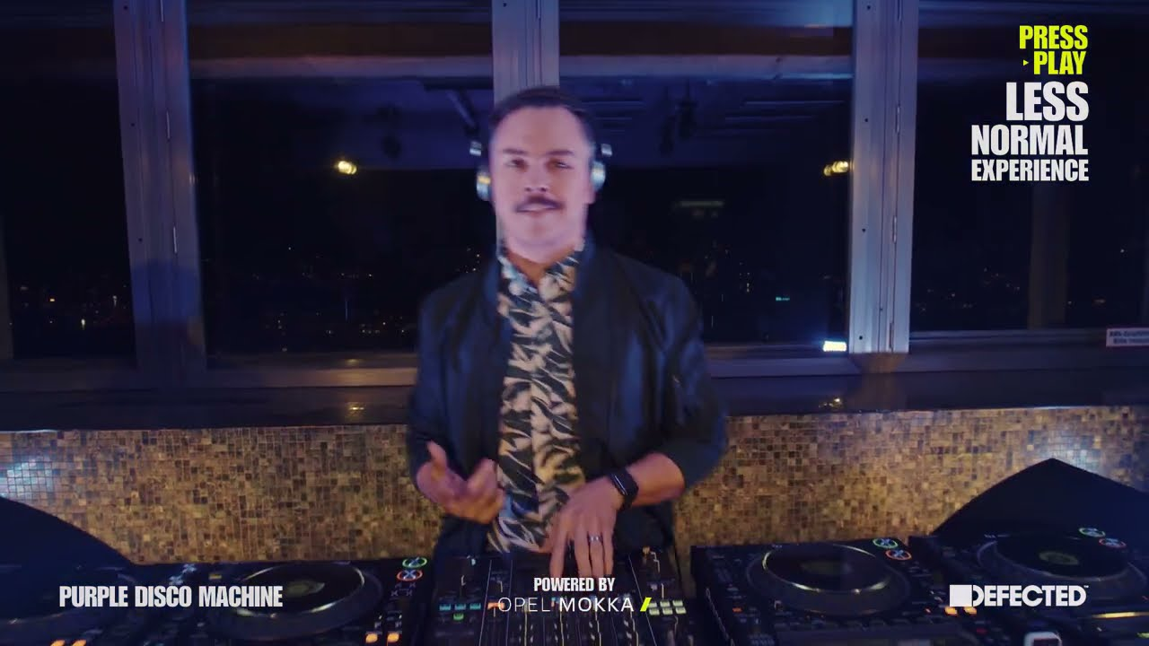 Purple Disco Machine - Live @ Opel x Defected: Press Play: Less Normal Experience 2021