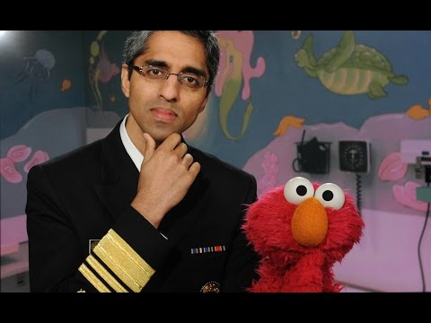 Elmo's a little nervous about getting a shot, but Surgeon General Vivek Murthy stops by to explain how vaccines work, and why they're so important for children's health. The U.S. Department of Health & Human Services, Sesame Street, and the Daily Dot have teamed up to create this short video that you can share with friends, family, and new parents.