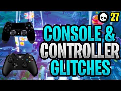 The Game Ruining Glitches Of Console/Controller Fortnite! (Xbox + PS4 Fortnite - Season 9)