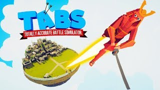 Launching The Secret Giants Into Orbit in Totally Accurate Battle Simulator (TABS)