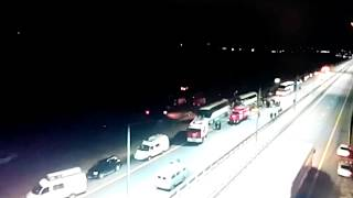 Смертельное ДТП с двумя автобусами в Воронежской области .Погибло 5 человек