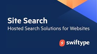 Swiftype Site Search video