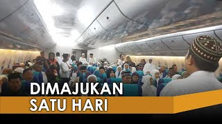 Keberangkatan Jemaah Haji 2019 Kloter Pertama Dimajukan Sehari