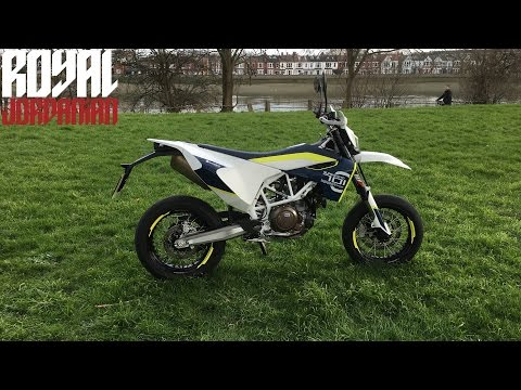 Husqvarna 701 Supermoto - Walkaround & Start