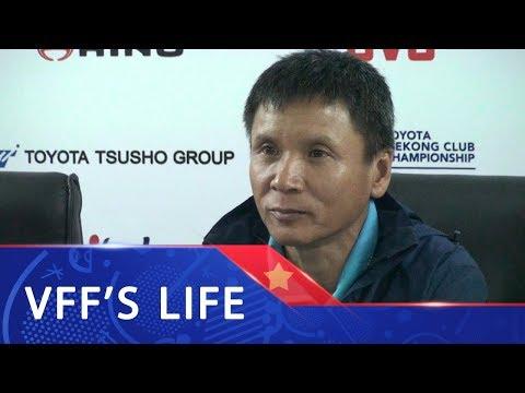 Họp báo sau trận   Thầy trò HLV Võ Đình Tân tự tin chiến thắng Boeung Ket FC ở trận lượt về