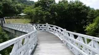 北海道旭川市函館本線旧神居古潭駅付近を歩く