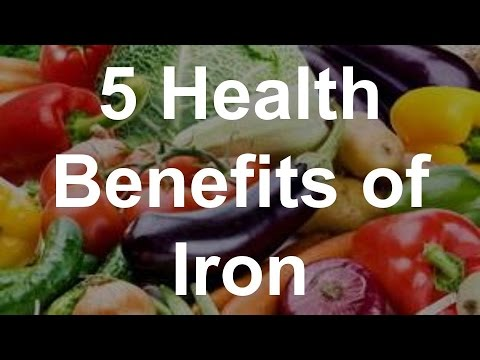 Video 5 Health Benefits of Iron