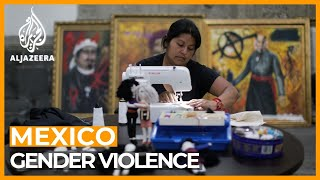 Mexico's women turn federal building into shelter for gender violence victims