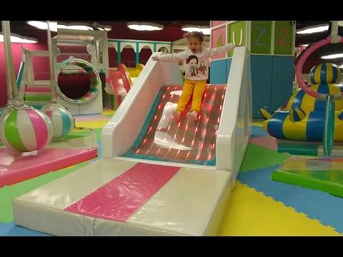 Mark antalya playland te kaymaca zıplamaca oyun keyfi devam, eğlenceli çocuk videosu