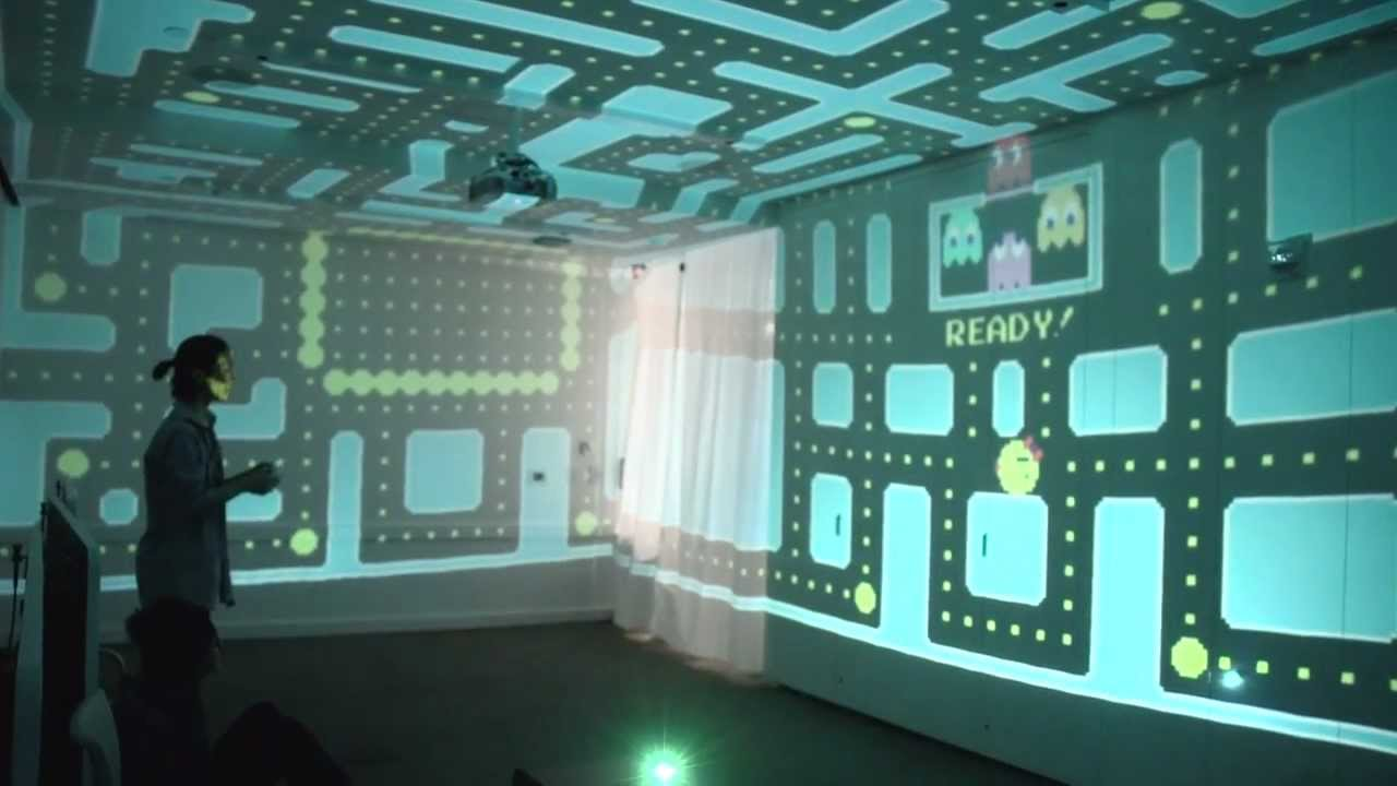 This Extraordinary Version Of Ms. Pac-Man Fills An Entire Room