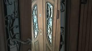 Металеві вхідні двері з МДФ накладками, стандарт 90, модель 28 від компанії Vemar - все для дому - відео