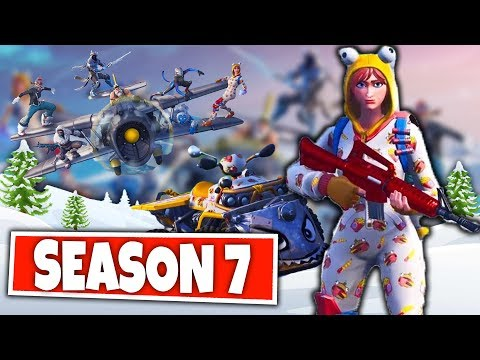 FORTNITE SEASON 7!⛄️