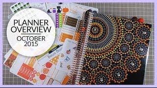 Planner Overview | October 2015