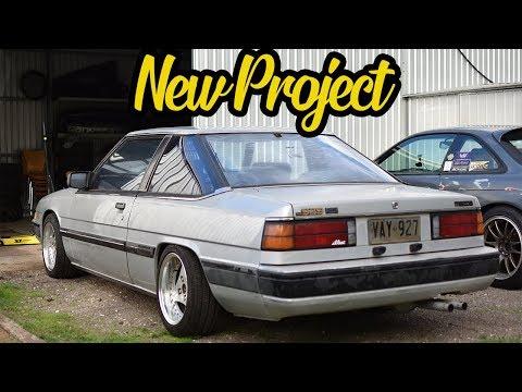 1985 HB Mazda 929 Build Part 1 - New Project Car