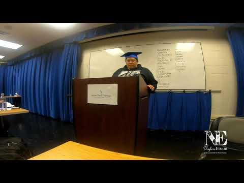 Class speech for Ceremonial speech