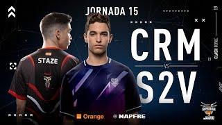 Cream eSports VS S2V Esports | Jornada 15 | Temporada 2018-2019
