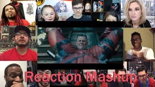 Deadpool 2  The Final Trailer REACTION MASHUP