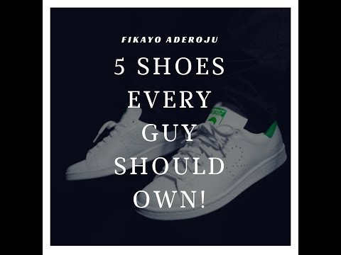 5  SHOES EVERY GUY SHOULD OWN IN COLLAB WITH CHIDERA AGOHA