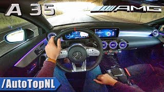 2019 Mercedes AMG A35 4Matic POV Test Drive by AutoTopNL
