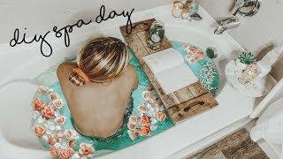 Ultimate DIY Pampering SPA Routine | Hair & Skin