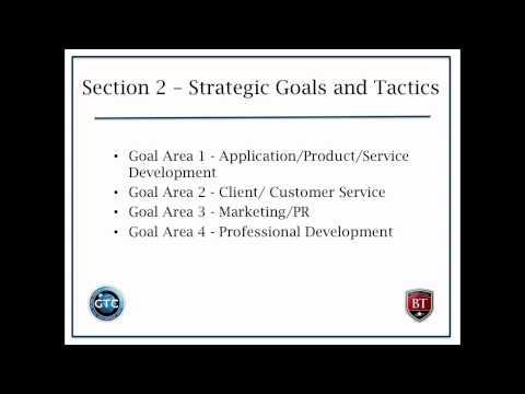 Creating a Strategic Business Development Plan