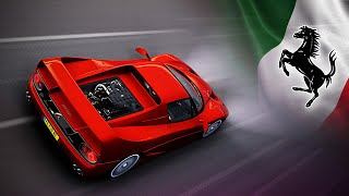 Ferrari F50. Prancing Horse