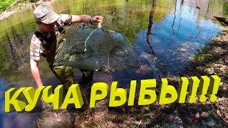 Ловля рыбы на зонтик с алиэкспресс