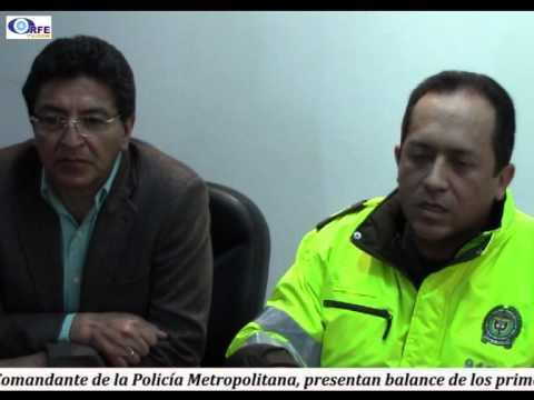 01 Balance de la Policia Metropolitana de Tunja