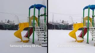 Comparatie camere - Samsung S8 Plus versus Elephone U