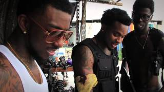 """Red Rock starring Travis Porter """"Behind The Scene"""" (Part One)"""