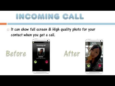 Video of HD Full Screen Caller ID