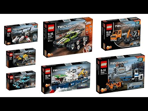 Lego Technic Sets for Winter 2017