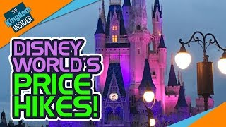 DISNEY WORLD RAISES PRICES on Parking, Annual Passes, More!