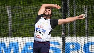 Albi 2020 : Quentin Bigot avec 76,42 m au marteau