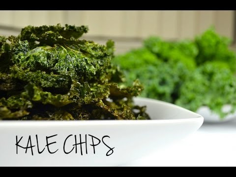 Video How to Make Crispy Kale Chips | HEALTHY SNACKS