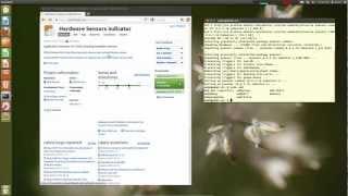 lm-sensors : Monitor CPU temperature & fan speed in Linux