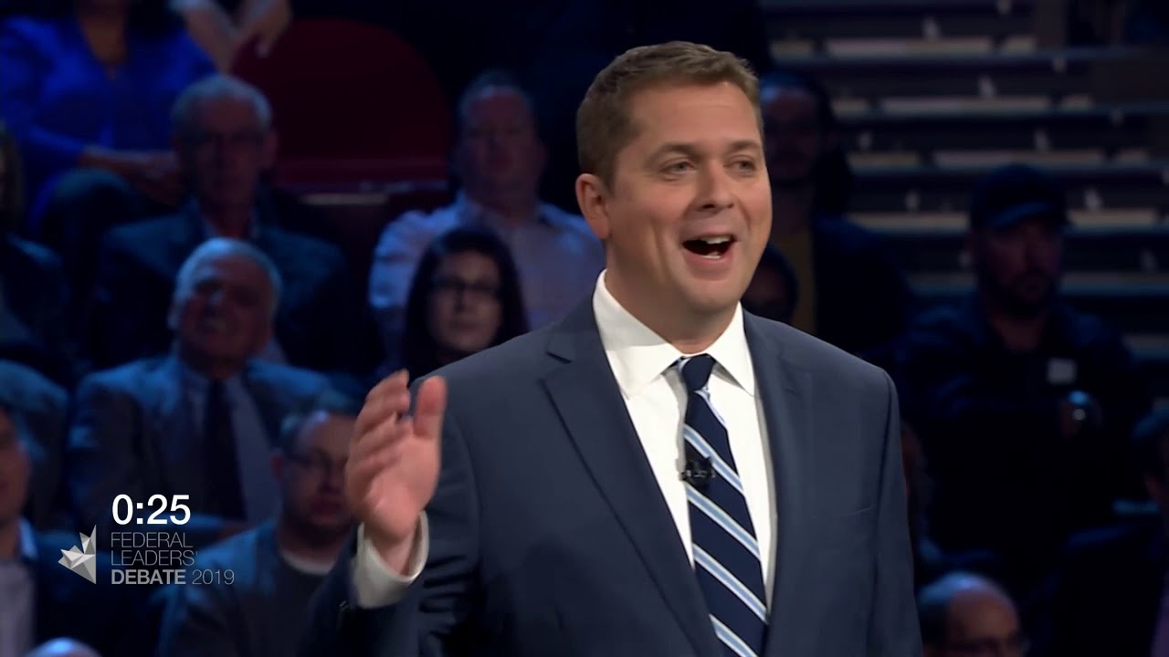 Andrew Scheer debates Justin Trudeau about First Nations consent for new pipelines