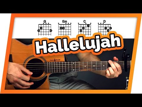 Hallelujah Fingerstyle Guitar Lesson (Tutorial) For Beginners