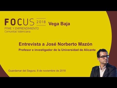 Entrevista a José Norberto Mazón, profesor e investigador de la UA, en Focus Vega Baja[;;;][;;;]