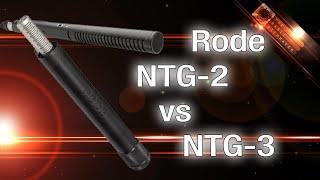 RØDE Mic Not Really A Review NTG-2 vs NTG-3 - The Basic Filmmaker Ep 95
