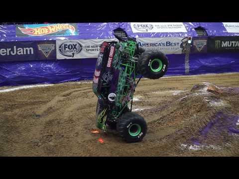 Incredible Monster Truck Balancing Act