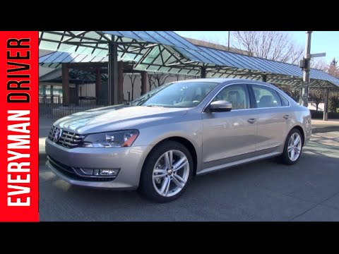 2014 Volkswagen Passat First Review Video