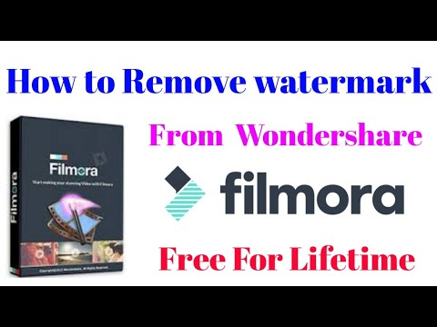 how to remove watermark on filmora wondershare