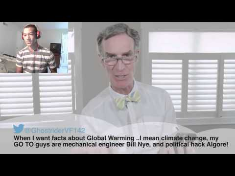 BILL NYE reading MEAN TWEETS REACTION
