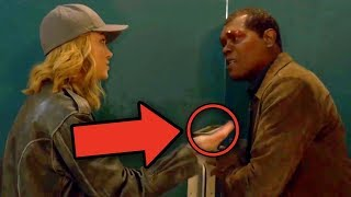 Captain Marvel Nick Fury PAGER Revealed! Avengers Endgame Theory!