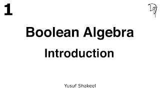 Introduction - Boolean Algebra - DYclassroom | Have fun