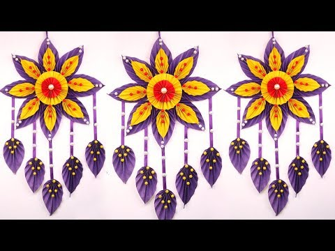 Paper Craft Diwali Decoration Ideas Wall Hanging Genius Craft Idea