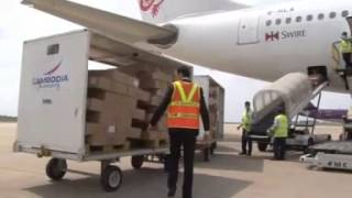 Cambodia sees jump in cargo shipments.