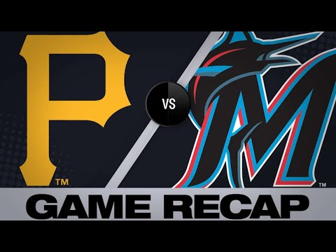 Bell's double lifts Pirates over Marlins | Pirates-Marlins Game Highlights 6/16/19